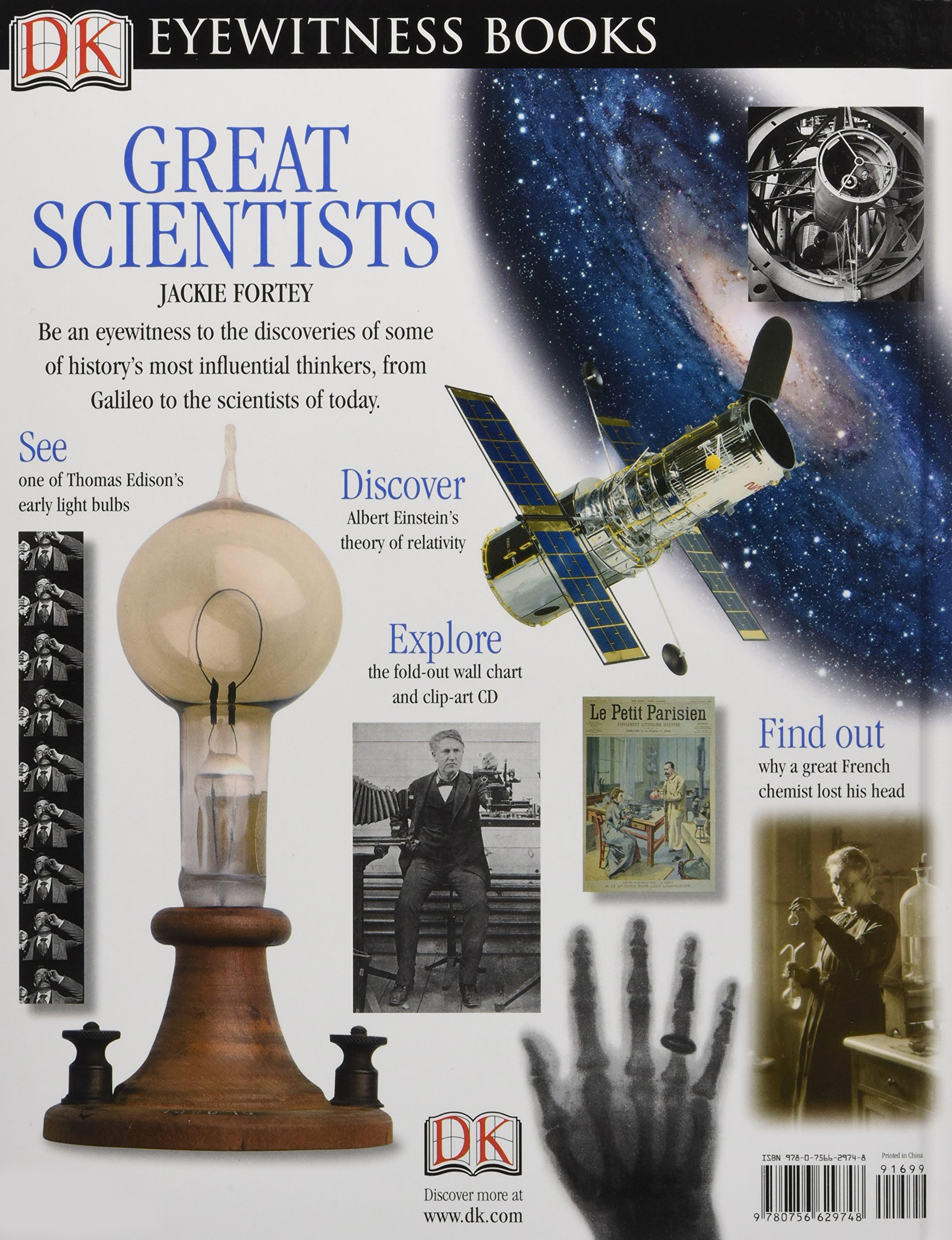 DK Eyewitness Books: Great Scientists: Discover the Pioneers Who Changed  the Way We Think About Our World: Jacqueline Fortey: 0690472029748:  Amazon.com: ...