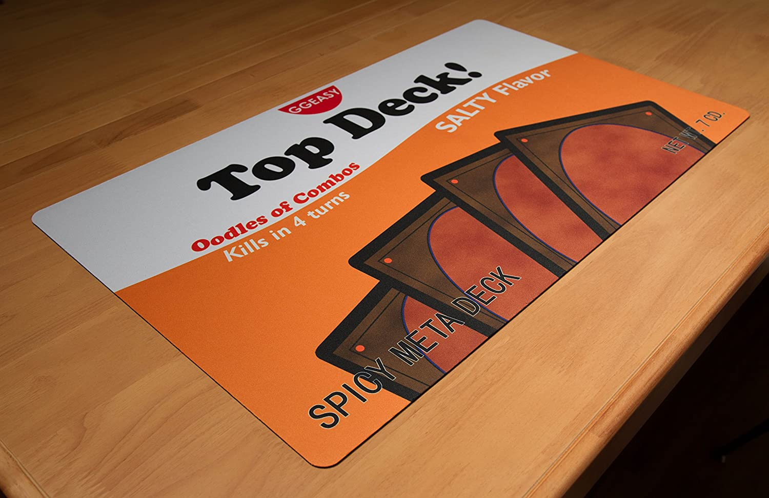 Inked Playmats Top Deck Playmat Inked Gaming Perfect for MTG Magic The Gathering TCG Game Mat
