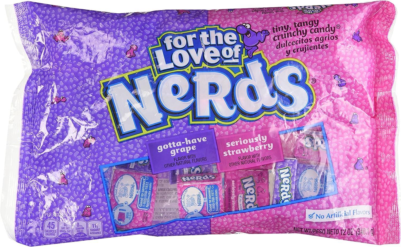 Wonka Grape & Strawberry Nerds - 12 oz