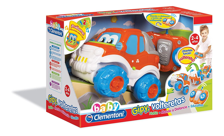 Baby Clementoni- Coche teledirigido y Volteretas (550715)