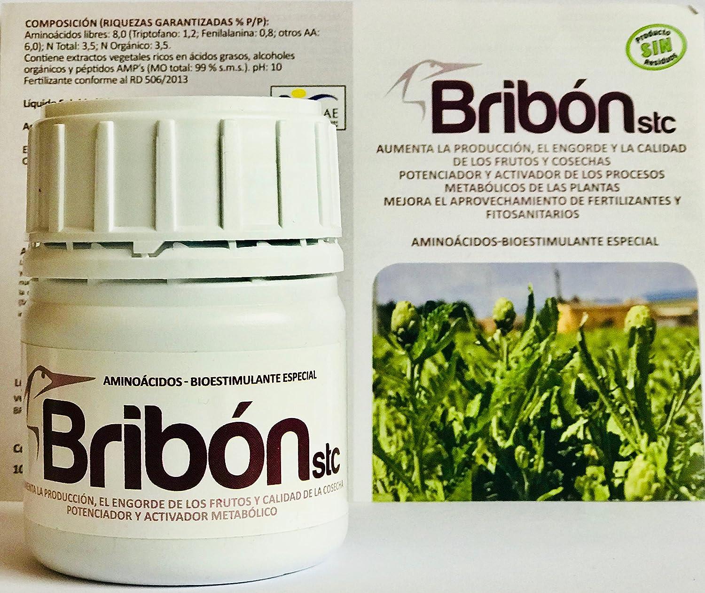 Bribon® Nutricional de alta tecnología. Super concentrado. Apto 10.000 m2 superficie. Frutos-Plantas-Flores: Amazon.es: Jardín