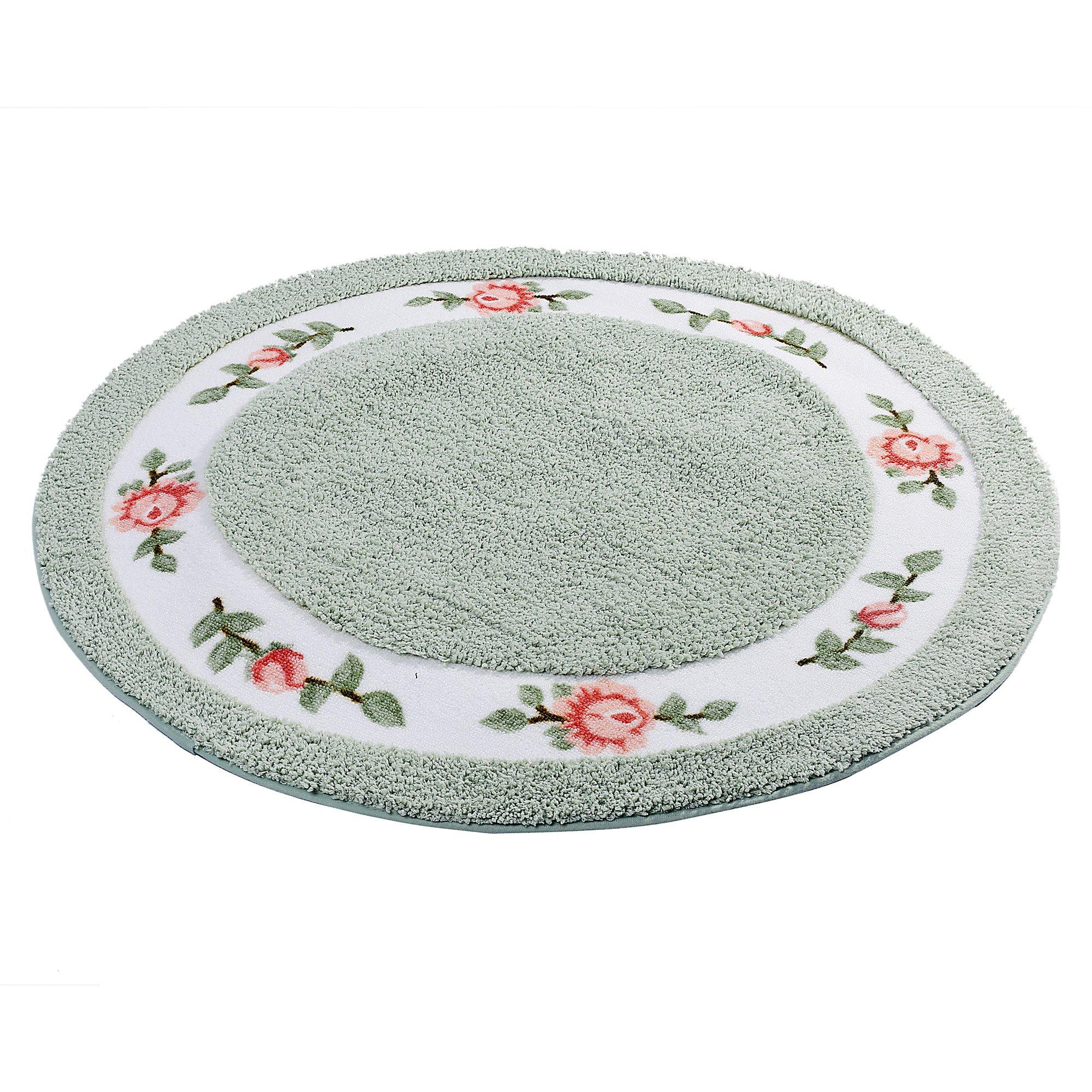 Floral Bathroom Rugs Amazon Com