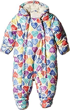 dddd75ef4807dd ESPRIT Baby Girls mit Kapuze Hooded Long Sleeve Snowsuit, Beige (Light  Beige 290), 3-6 Months (Manufacturer Size: 68): Amazon.co.uk: Clothing