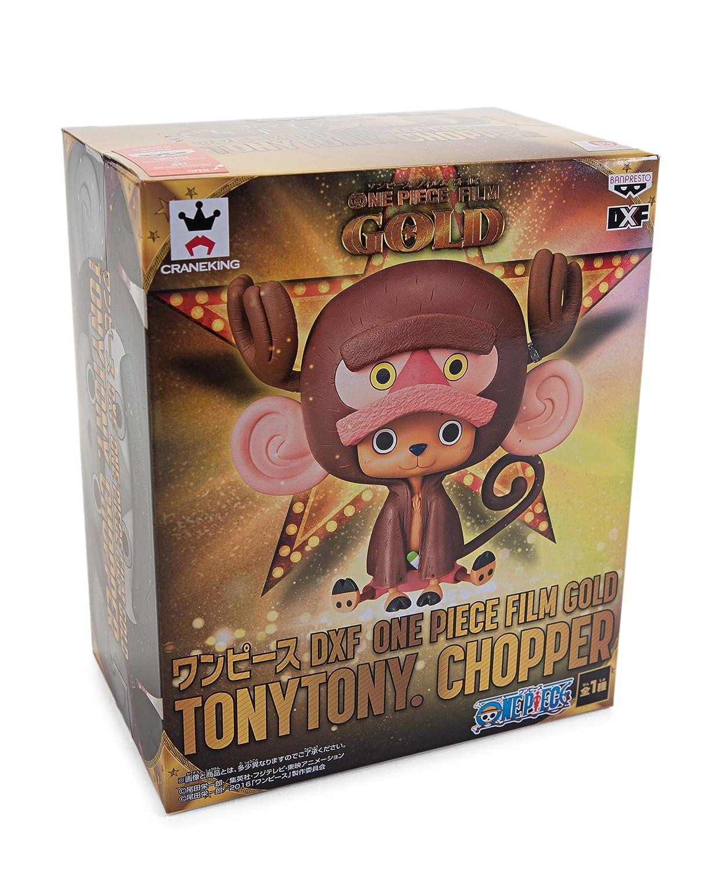 Banpresto One Piece 5.5-Inch Film Gold Tony Tony Chopper DXF Figure 25290