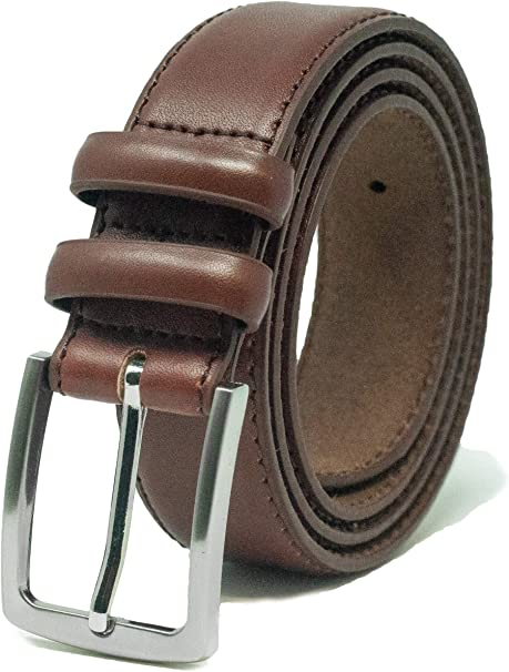 Ossi 38mm Belt with Double Loop for Men in Black Brown or Tan
