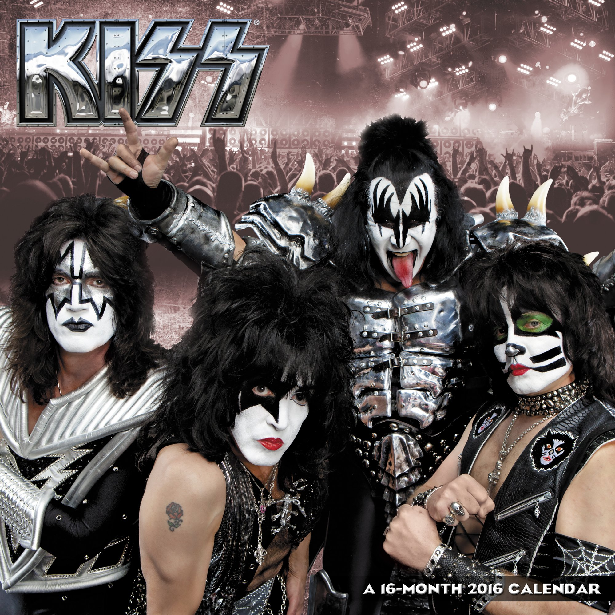 Download KISS Wall Calendar (2016) PDF