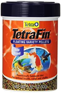 Tetra 77035 Tetrafin floating pellets for Goldfish