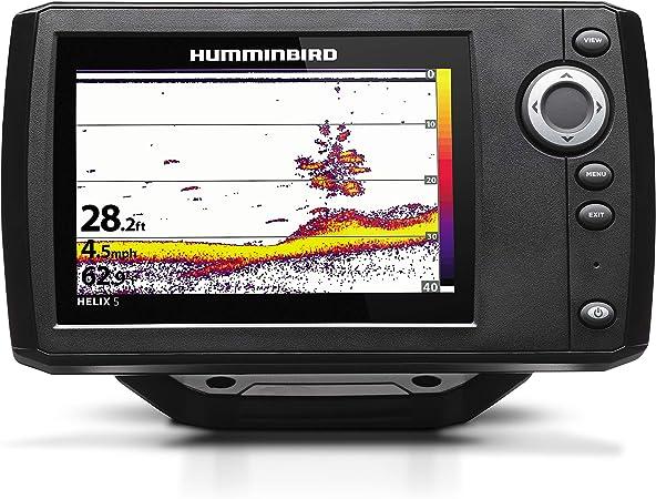 Humminbird Helix 5 Series Sonar G2 Fishfinder System 4000 Watt 410190 1 Elektronik