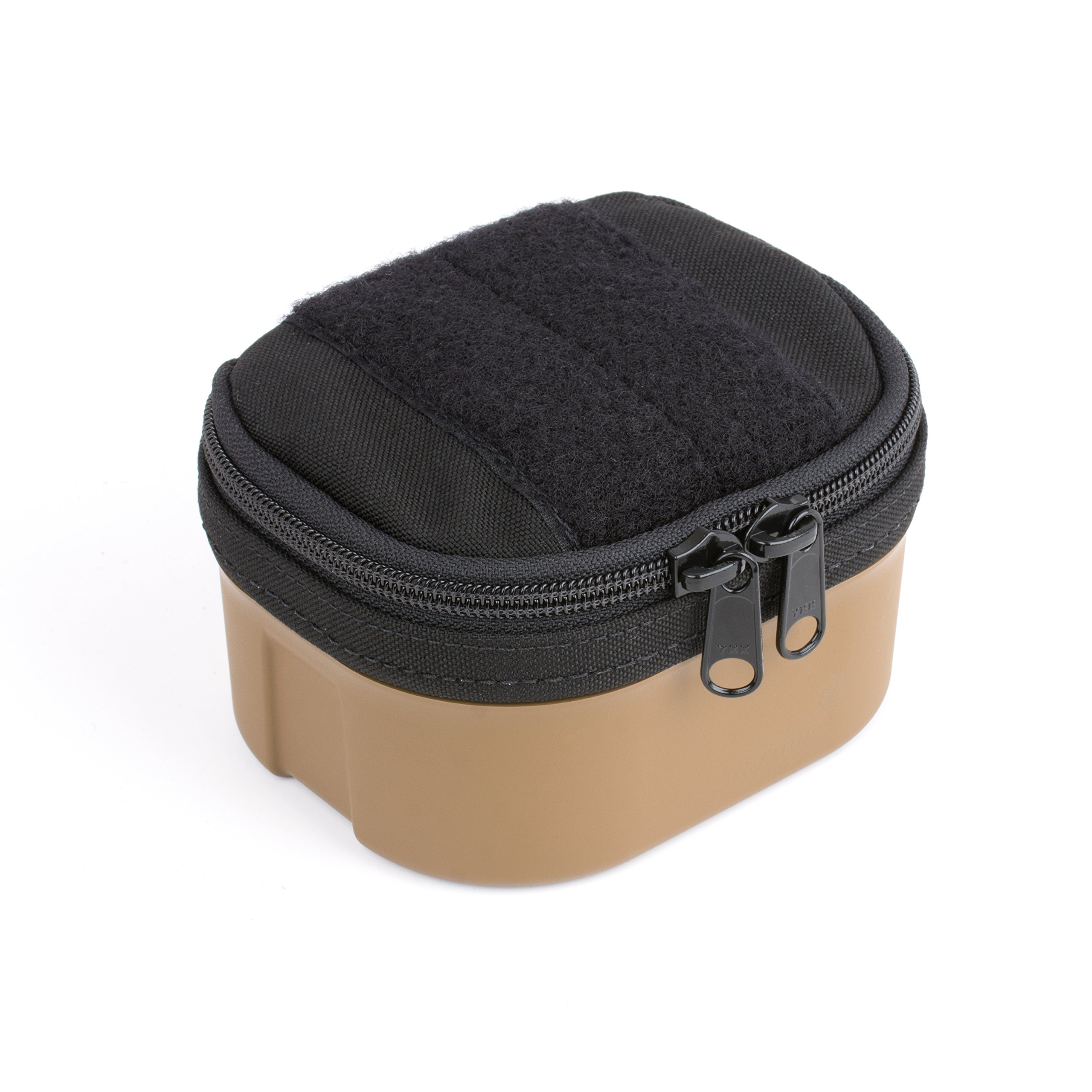 G-CODE Bang Box -Ammunition transport made simple! 100% Made in USA (black on tan)