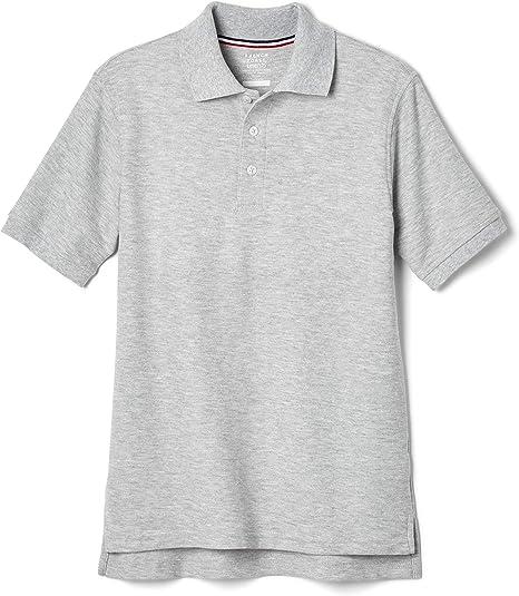 M Standard /& Husky Royal French Toast Boys Long Sleeve Pique Polo Shirt 10//12 Husky
