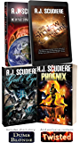 Stand Alone Novels by A.J. Scudiere: Resonance, The Shadow Constant, God's Eye, Phoenix, Dumb Blonde, Twisted