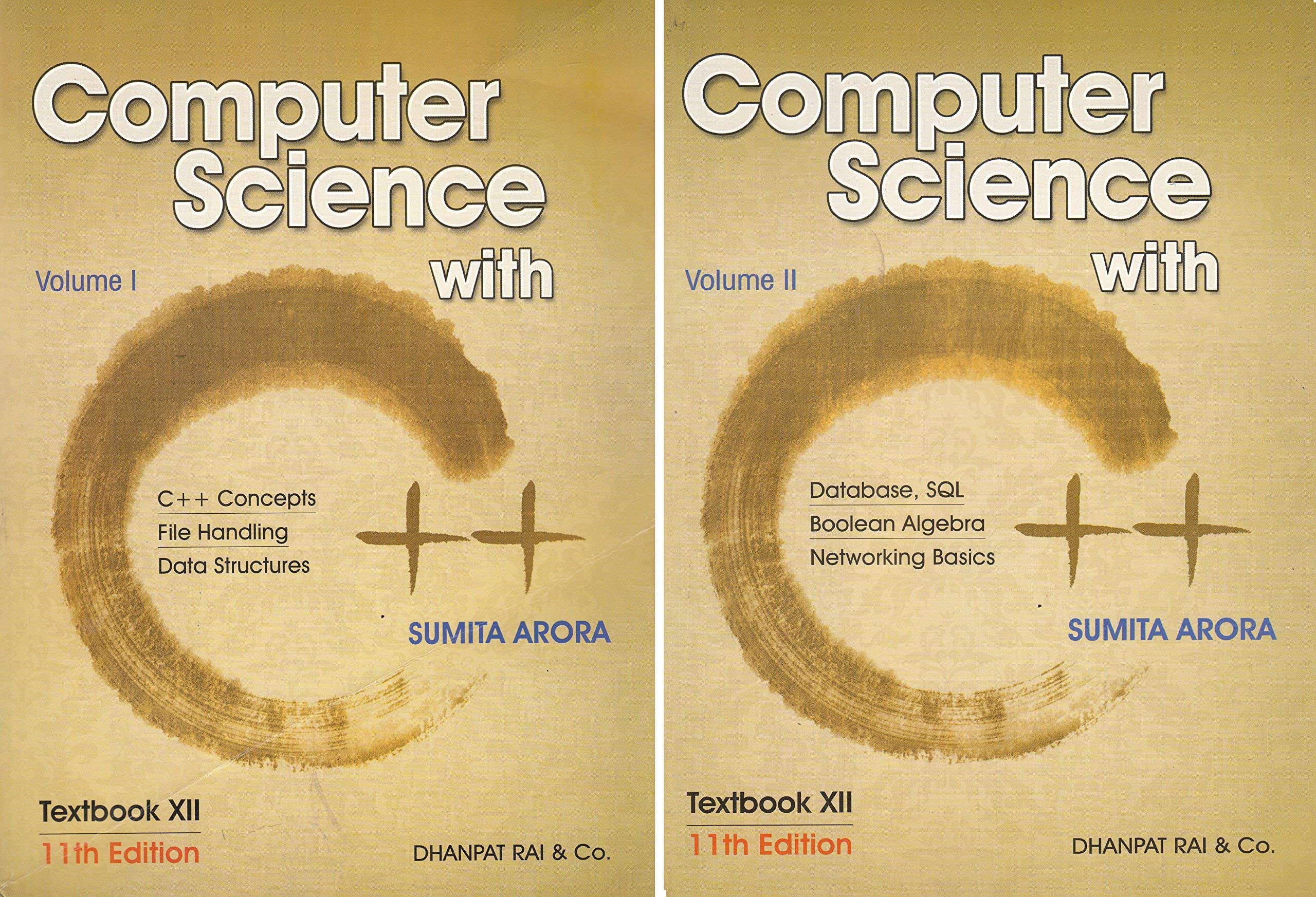 Computer Science With C++ Set of 2 Volume by Sumita Arora