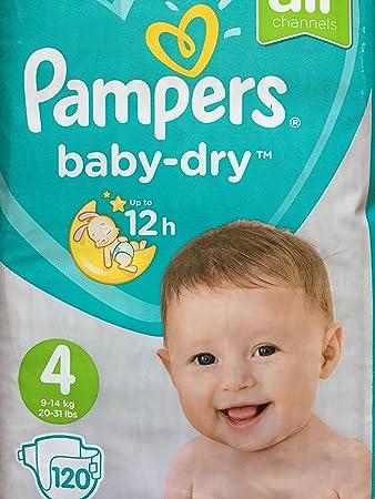 Monatsbox 1er Pack 1 x 120 Stück 120 Windeln Pampers Baby-Dry Pants Größe 5+