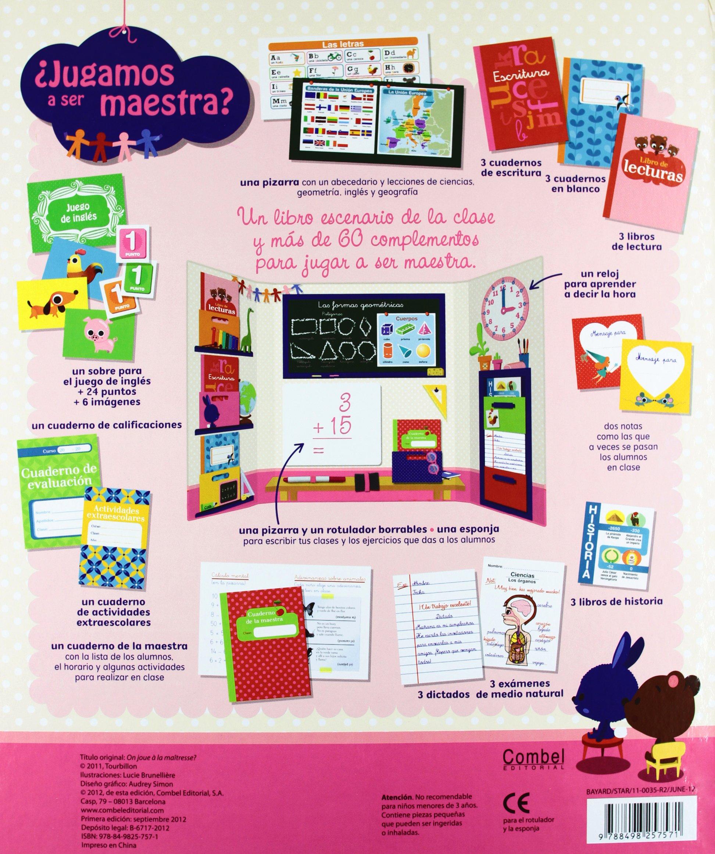 Jugamos a ser maestra?: Lucie, (il.) Éditions Tourbillon ...