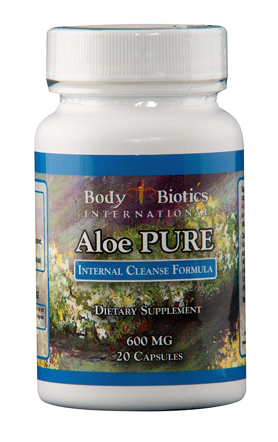 Body Biotics Aloe Pure 20 Capsules, 45 day supply