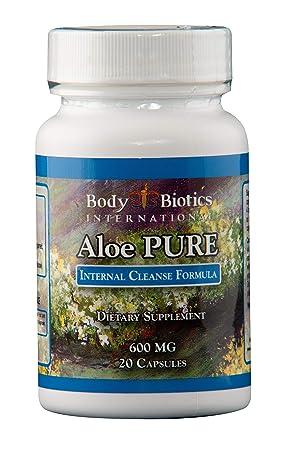 Body Biotics Aloe Pure 20 Capsules, 45 day supply