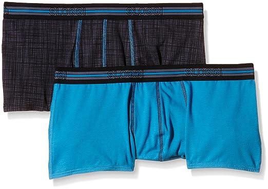 06bbb750abc9 Sloggi Men's Men Match Hipster C2P Not Applicable Boxer Briefs, Blue  (Multiple Colours), 30 (Manufacturer Size: 3): Amazon.co.uk: Clothing