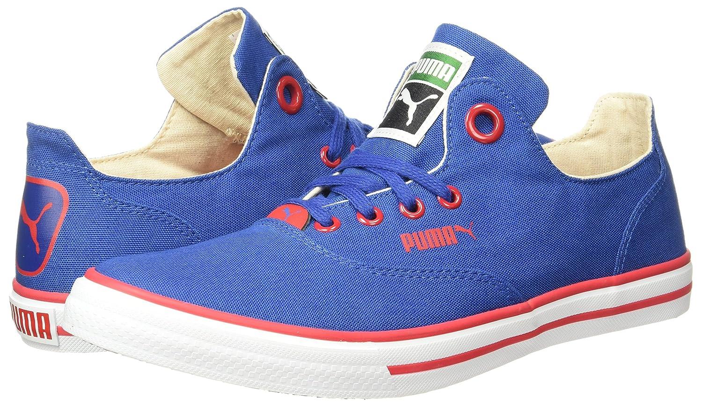 6fdf78efa97 Puma Unisex Limnos Cat 3 Dp Sneakers. Colour  True Blue ...