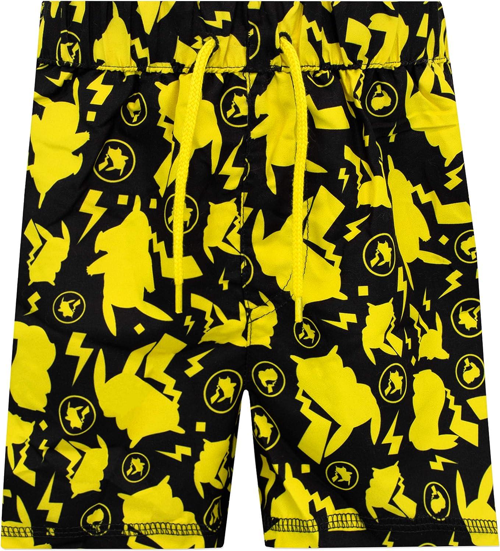 Pokemon Boys Pikachu Two Piece Swim Set