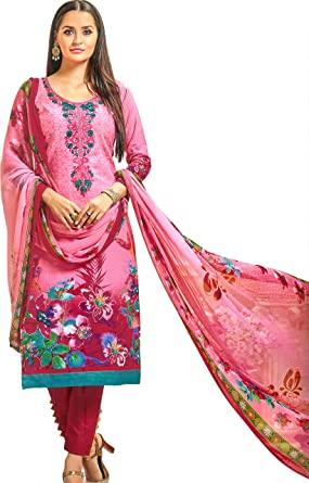 Amazon.com: Exotic India Sachet-Pink - Pantalón estampado ...