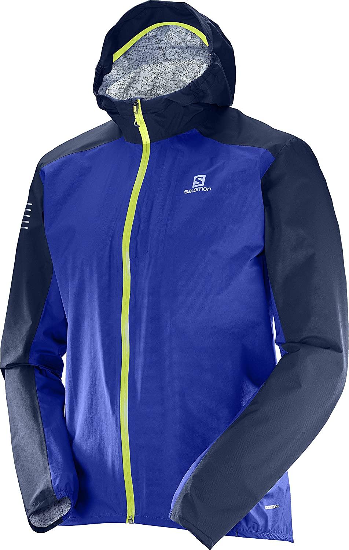 bluee (Surf The Web Dress bluee) S Salomon Men Bonatti WP Sport Jacket