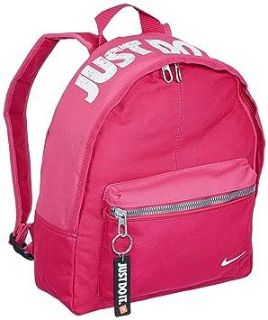 Nike Children S Backpack Ba4606 691 Pink 10 0 Liters Amazon Co Uk