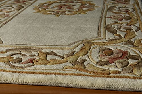 Momeni Rugs Harmony Collection, Traditional Area Rug, 2 x 3 , Ivory