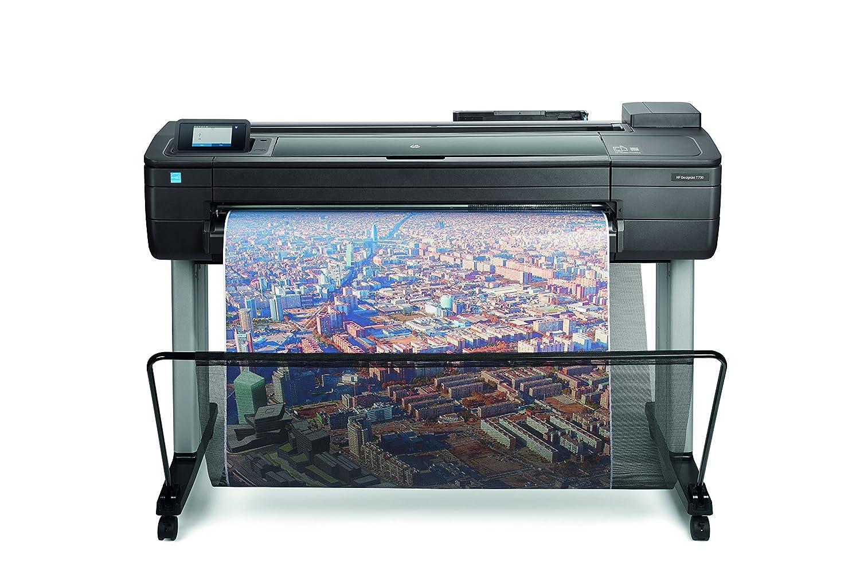 HP Designjet T730 36-in - Impresora de gran formato (HP-GL/2, HP-RTL, PCL 3, TIFF, URF, 2400 x 1200 DPI, Negro, Cian, Magenta, Amarillo, A0 (841 x 1189 mm), Inyecció n de tinta té rmica, USB) Inyección de tinta térmica F9A29A#B19