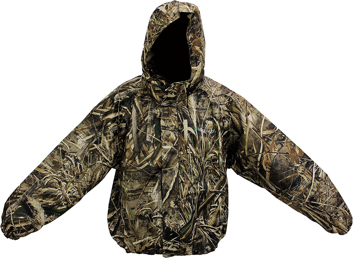 FROGG TOGGS RAIN GEAR-PA63102-56 PRO ACTION REALTREE MAX-5 CAMO JACKET HUNTING