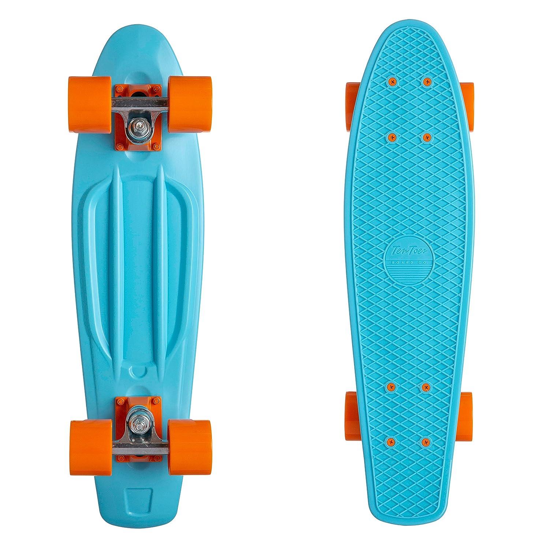 ウエストリッジクイックコンプリート22.5インチクラシックプラスチックミニクルーザー標準スケートボード、スカイブルー B079MNMDWB/オレンジ B079MNMDWB, ザッカ ミント:83a75230 --- integralved.hu