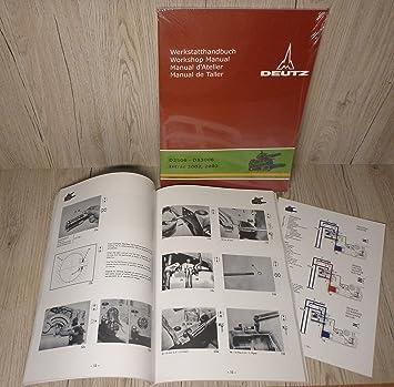 Anleitungen & Handbcher Werkstatthandbuch DEUTZ Motor F3L912 fr ...