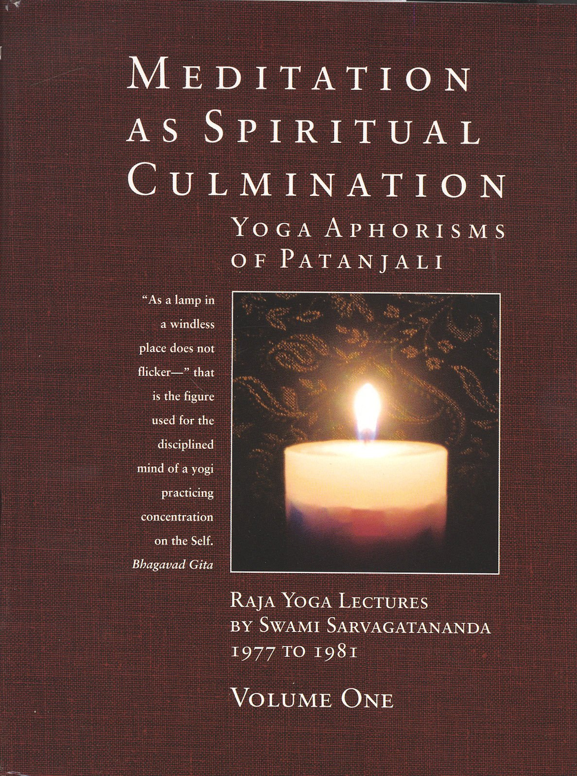 Download Mediation As Spiritual Culmination: The Yoga Aphorisms of Patanjali, 2-volume Set pdf