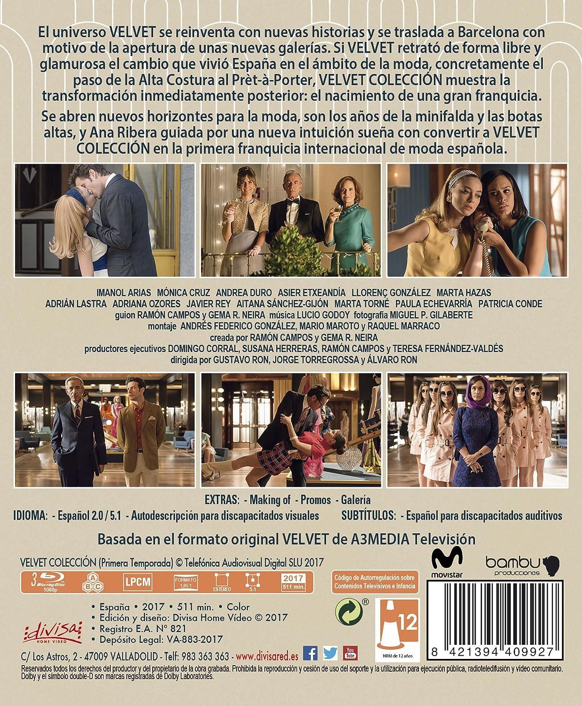 Velvet Colección - Temporada 1 [Blu-ray]: Amazon.es: Marta ...