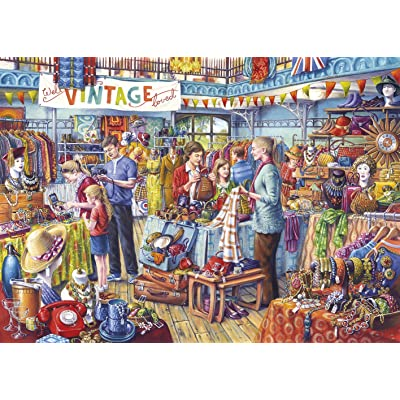 Gibsons Nearly New Jigsaw Puzzle, 1000 Piece: Toys & Games