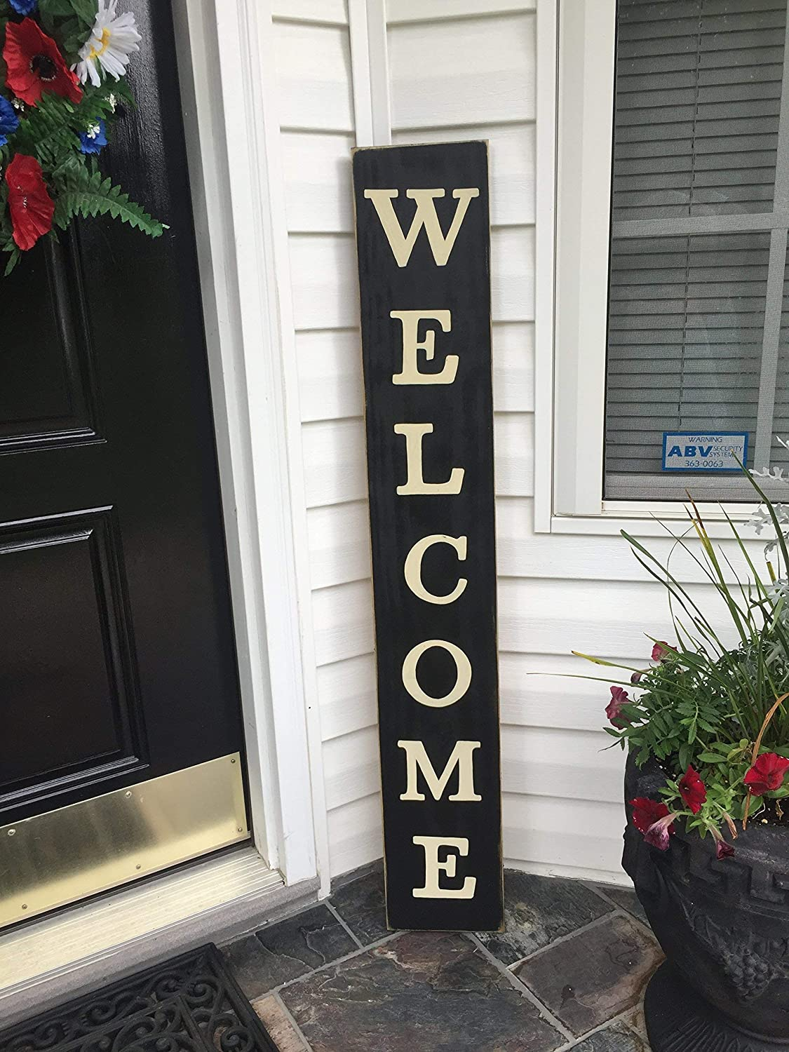WELCOME TO THE FARM Sign Plaque Farmhouse Living Rustic Primitive HP Country