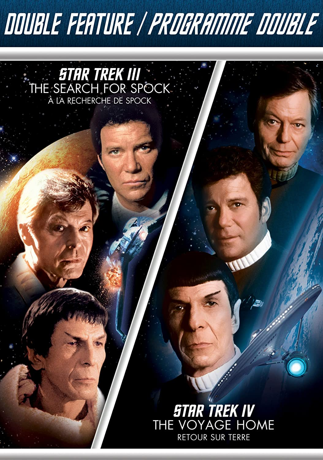 Star Trek III: Search for Spock / Star Trek IV: The Voyage Home (Double Feature)