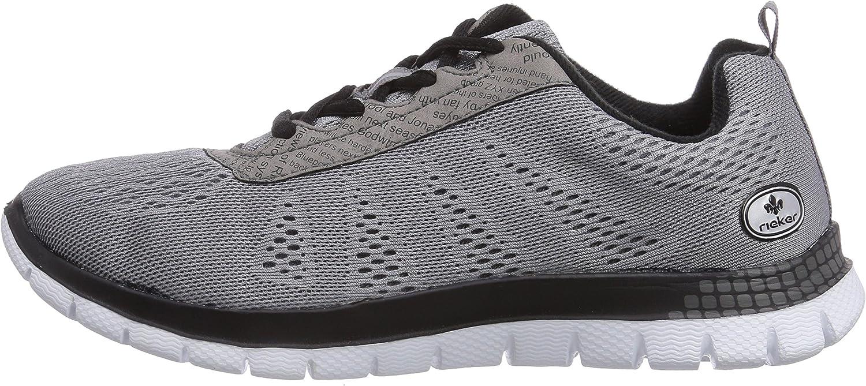 Rieker Damen L5600 Sneakers, Grau (duststaub42), 42 NUwLc