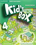Kid's Box for Spanish Speakers Level 4 Activity Book with CD ROM and My Home Booklet Second Edition - 9788490367520