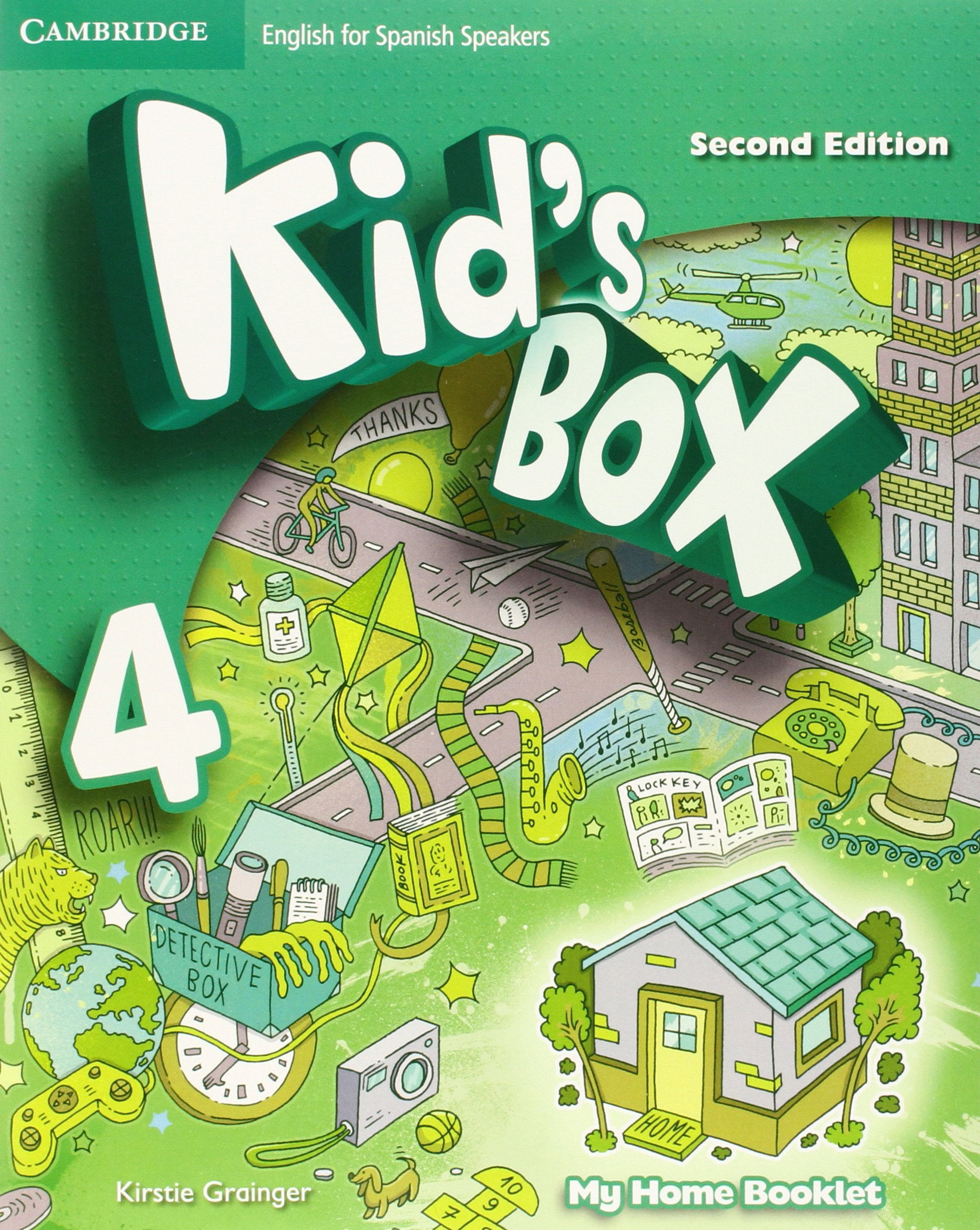 Kid's Box for Spanish Speakers Level 4 Activity Book with CD ROM and My  Home Booklet Paperback – 14 May 2015