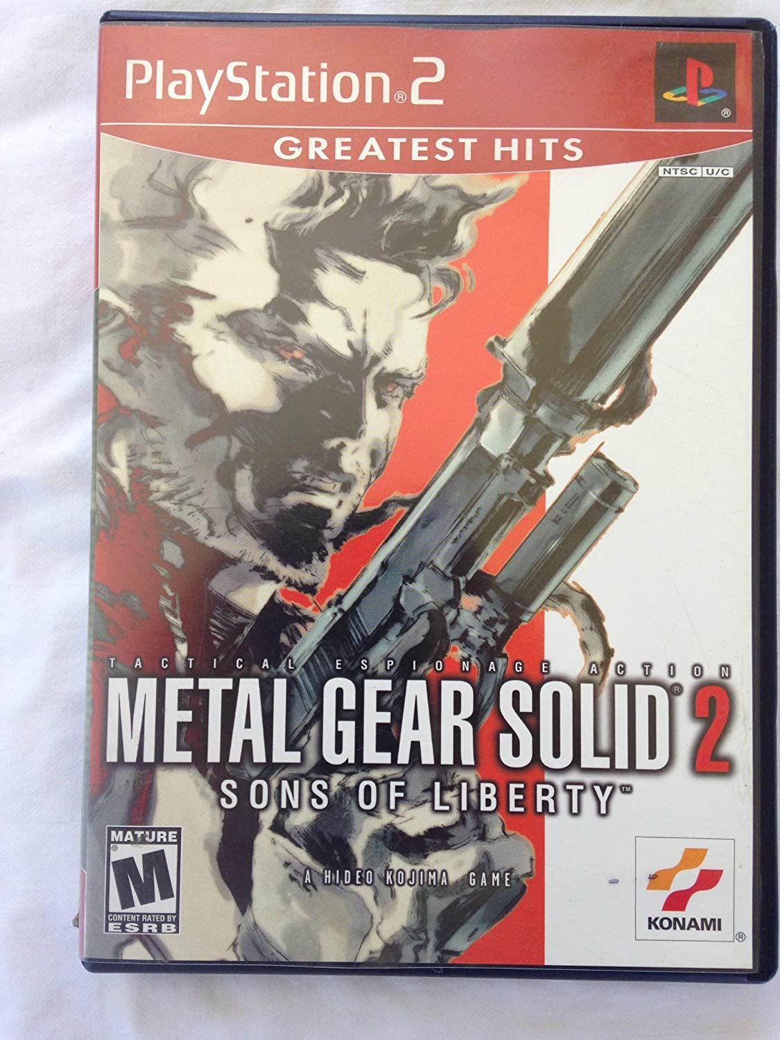 Amazon Com Metal Gear Solid 2 Sons Of Liberty Video Games