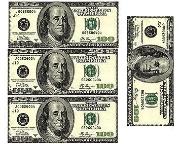 Amazon edible 100 dollar bills frosting sheet real looking edible 100 dollar bills frosting sheet real looking edible money voltagebd Choice Image
