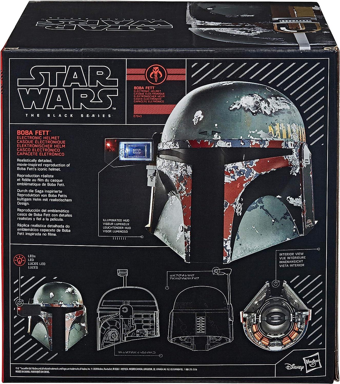 Star Wars Black Series Casco Electrónico Boba Fett (Hasbro E75435L0): Amazon.es: Juguetes y juegos