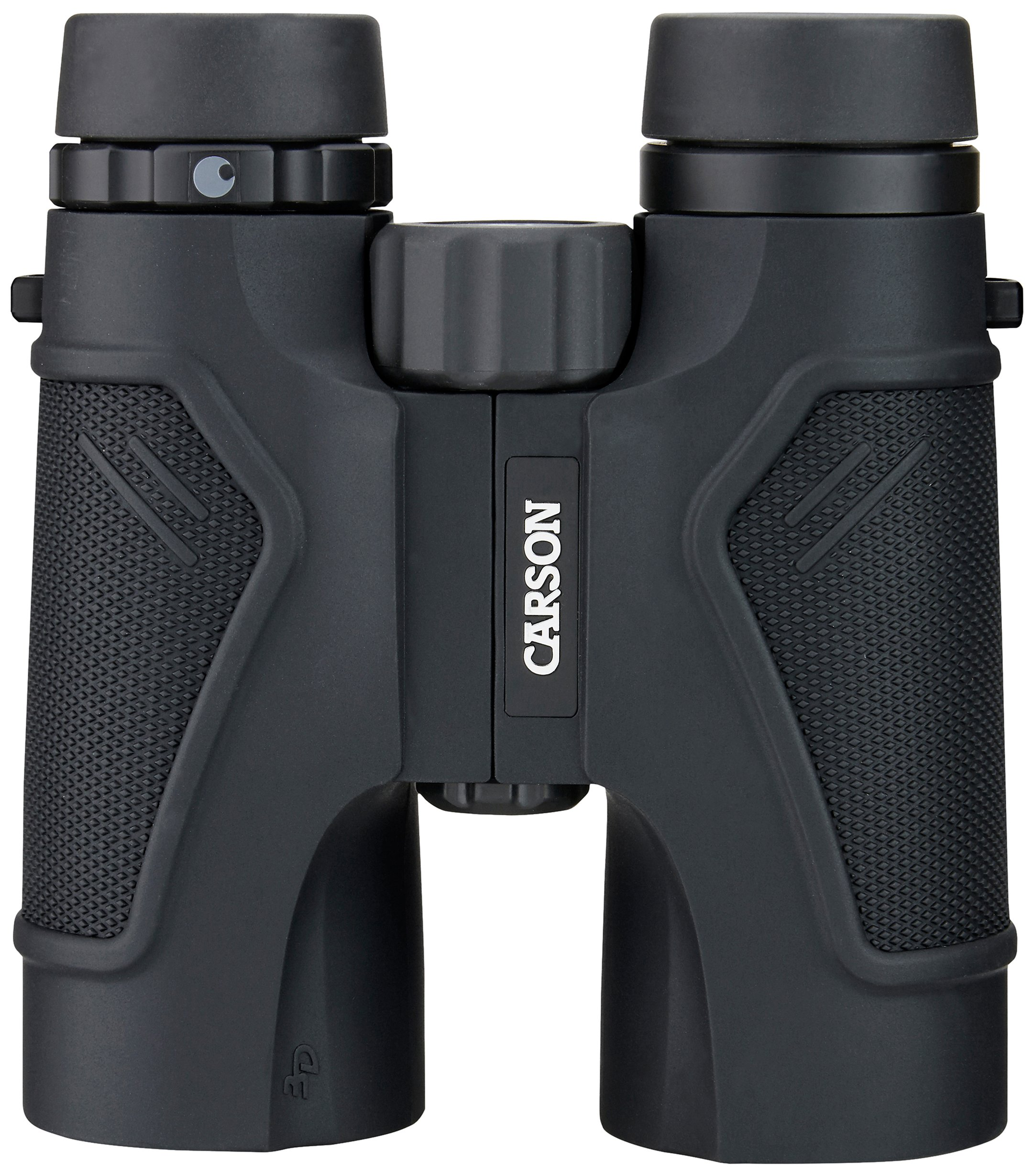 Carson 3D Series High Definition Binoculars with ED Glass, 10x42mm, Black by Carson