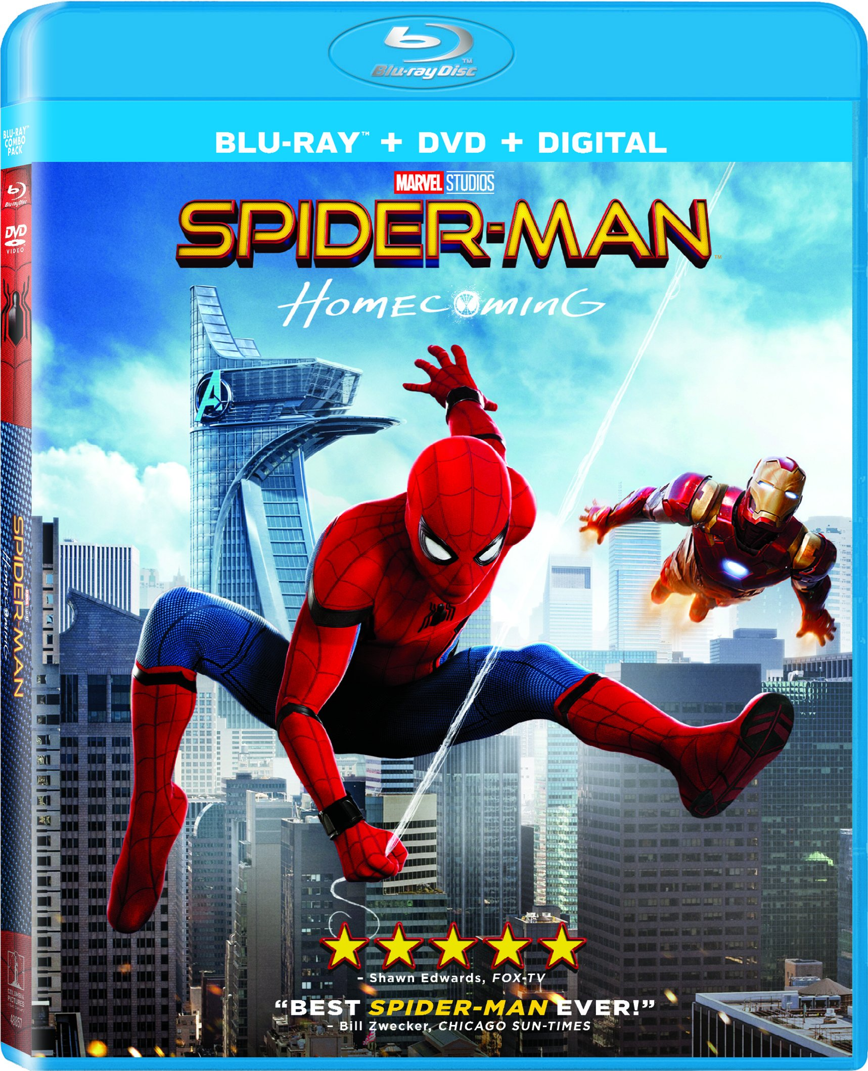 Spider-Man: Homecoming (With DVD, Ultraviolet Digital Copy, Widescreen, 2 Pack, Dubbed)