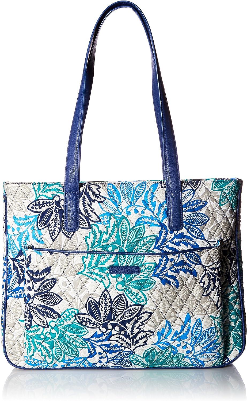 Vera Bradley Women's Signature Cotton Commuter Tote Bag
