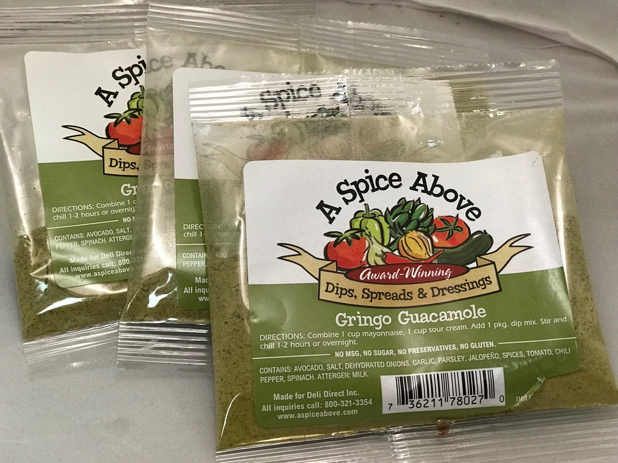 A Spice Above Gringo Guacamole (3 Pack)