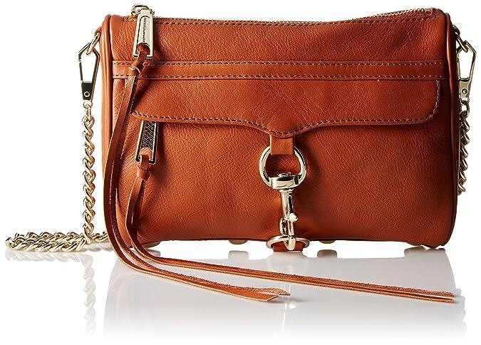 68a814aac8d4 Rebecca Minkoff Mini Mac, ALMOND: Handbags: Amazon.com
