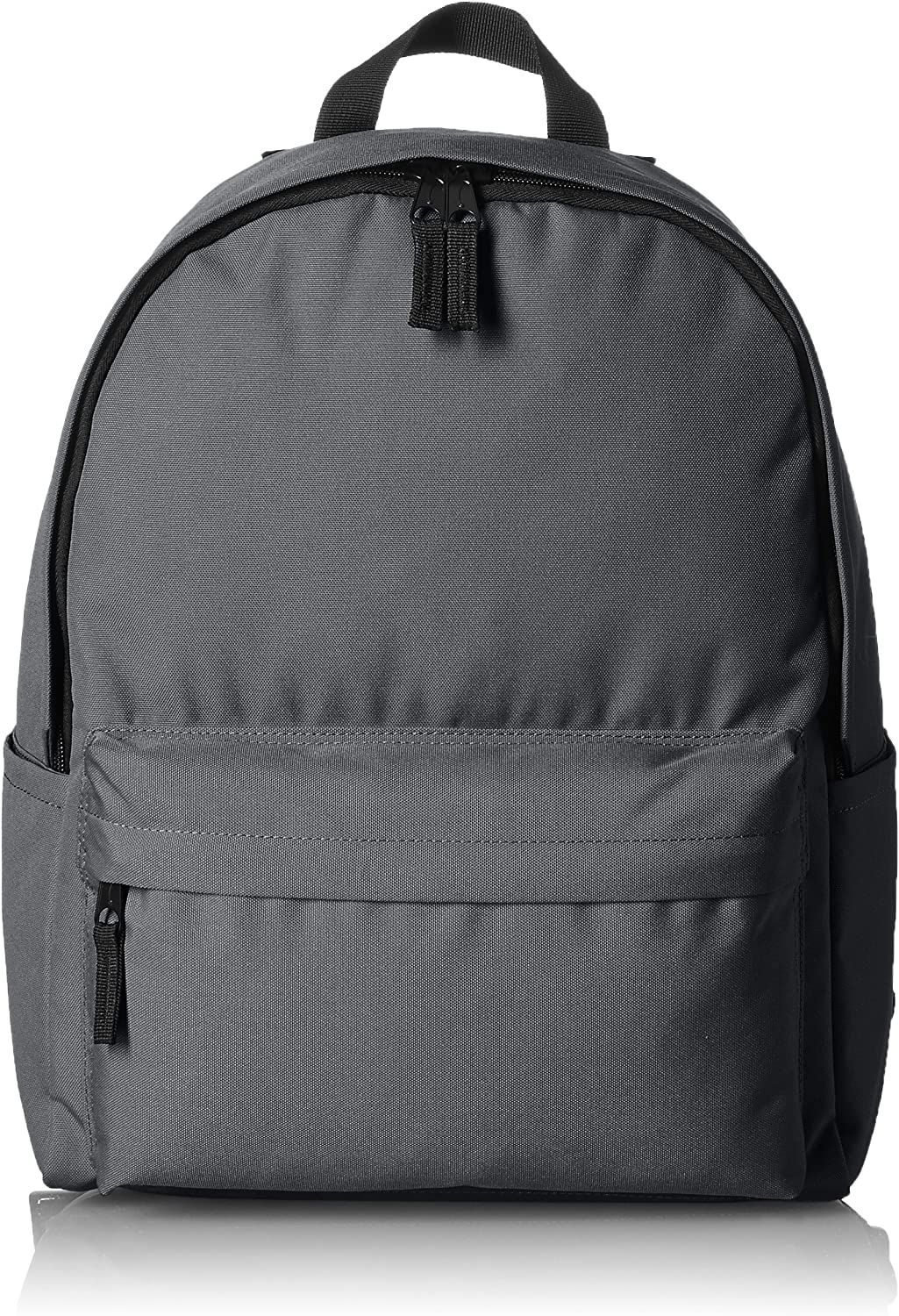 AmazonBasics Classic Backpack, Grey - 4-Pack