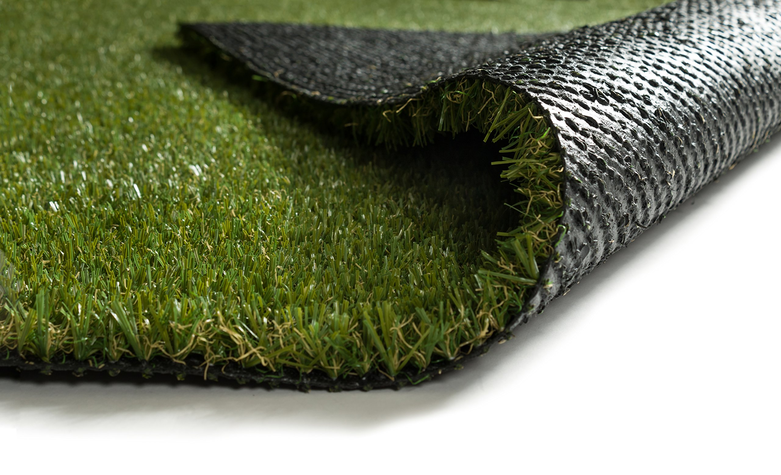 Pet Pad Indoor / Outdoor Artificial Grass Carpet Fade Resistant Easy Care Synthetic Turf 6'7''x9'3''