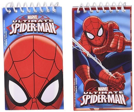 7 opinioni per 12 Block-notes Spiderman